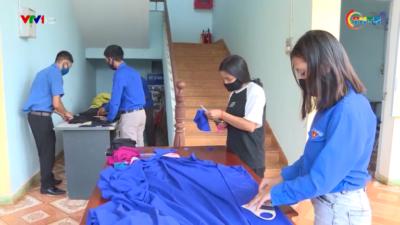 Thanh niên Gia Lai chung tay phòng chống dịch bệnh.
