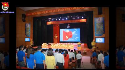 Bắc Giang - Đại hội hội LHTN Việt Nam tỉnh Bắc Giang lần thứ V, nhiệm kì 2019 - 2024.