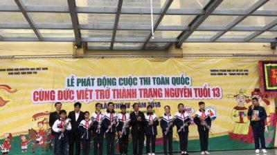 Cùng Đức Việt trở thành trạng nguyên tuổi 13