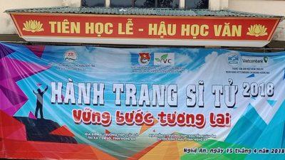 Tư vấn hướng nghiệp cho học sinh tại Nghệ An
