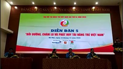 Diễn đàn 05 - Bồi dưỡng, chăm lo và phát huy tài năng trẻ Việt Nam