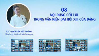 Những nội dung cốt lõi trong văn kiện Đại hội XIII của Đảng - Nguyễn Viết Thông
