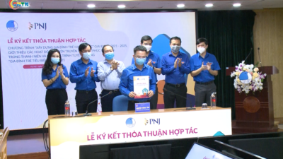 Trung ương  hội LHTN Việt Nam ký thỏa thuận hợp tác với công ty PNG