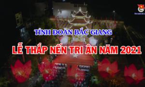 Bắc Giang - Thắp nến tri ân công lao của các anh hùng liệt sĩ