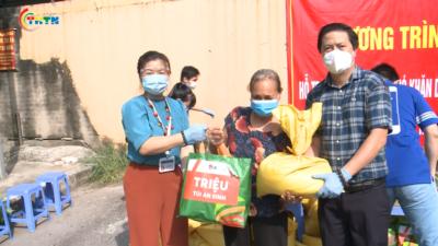 1000 túi an sinh hỗ trợ người dân bị ảnh hưởng bởi dịch Covid 19