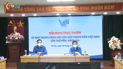 Hội nghị Đoàn chủ tịch Hội LHTN Việt Nam lần thứ tư khoá VIII