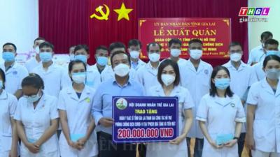 Gia Lai - Doanh nhân trẻ Gia Lai chung tay phòng chống dịch Covid