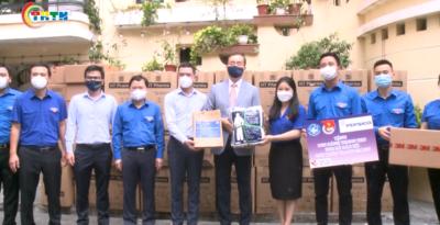 Trung ương Đoàn trao bánh trung thu cho y bác sĩ tuyến đầu năm 2021