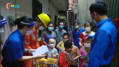 Tổ chức Đoàn Hội Đội Thủ đô chăm lo hỗ trợ thiếu nhi trong một trung thu đặc biệt