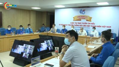 Chung kết toàn quốc Cuộc thi trực tuyến tìm hiểu 65 năm truyền thống Hội LHTN Việt Nam