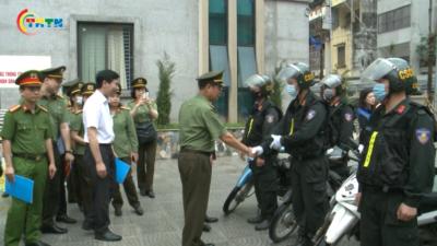 Quận Hà Đông ra quân bảo đảm an ninh trật tự bầu cử Đại biểu Quốc hội khóa XV