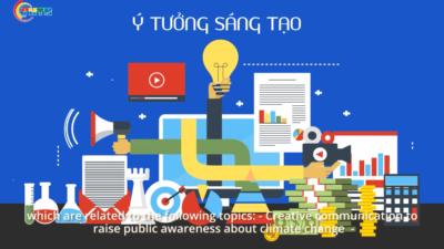 Phát động Cuộc thi Thanh niên sáng tạo vì khí hậu