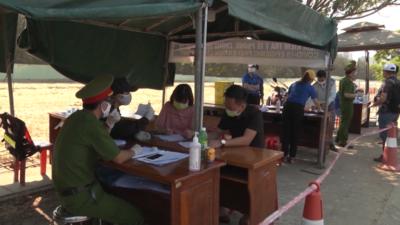 Quảng Nam - Bí thư Tỉnh đoàn thăm đội thanh niên xung kích phòng chống Covid-19.