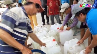 Đồng Tháp – Năng lượng ngày mới: Gửi trao nước ngọt nghĩa tình