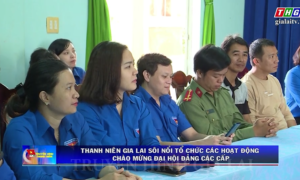 Gia Lai – Thanh niên Gia Lai sôi nổi các hoạt động chào mừng đại hội Đảng các cấp.