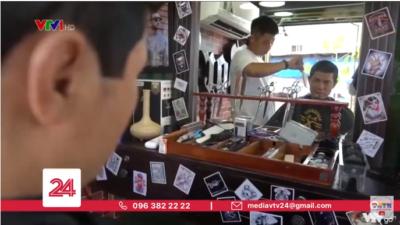 """Nguyễn Thị Hằng - Chủ ý tưởng tiệm cắt tóc """"Nụ cười""""."""