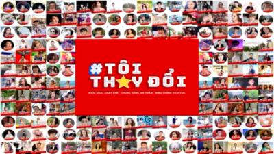 Hội LHTN Việt Nam phát động chiến dịch truyền thông #toithaydoi