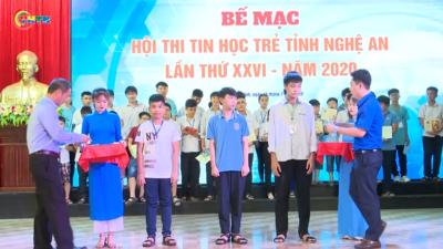 Nghệ An - Hội thi Tin học trẻ tỉnh Nghệ An lần thứ 26 - năm 2020.