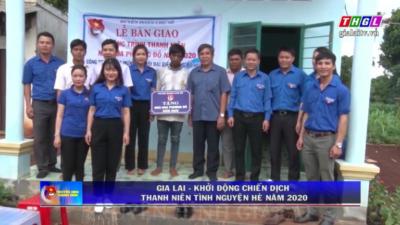 Gia Lai - Khởi động chiến dịch thanh niên tình nguyện hè 2020.