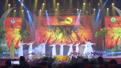 Chương trình nghệ thuật Lễ Kỷ niệm 70 năm Ngày truyền thống Lực lượng TNXP Việt Nam.