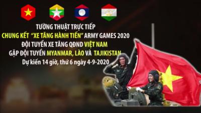 """Chung kết """"Xe tăng hành tiến"""" Army Games 2020"""