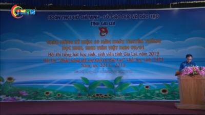 Hội thi tiếng hát học sinh sinh viên tỉnh Gia Lai