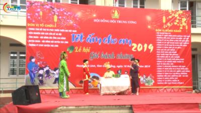 Gần 900 triệu đồng quà tết được trao tại tỉnh Cao Bằng