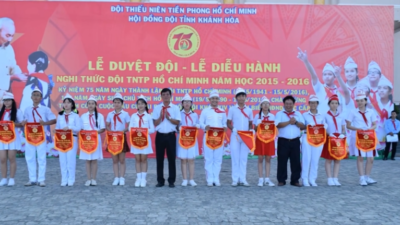 Khánh Hòa - Phong trào thiếu nhi học tập 5 điều Bác Hồ dạy