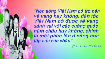 Sơn La - Phong trào thiếu nhi học tập 5 điều Bác Hồ dạy