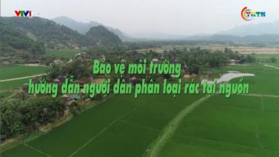 Bảo vệ môi trường hướng dẫn người dân phân loại rác thải tại nguồn