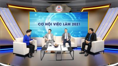 Live: Cơ hội việc làm 2021 - Số 6