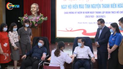 Thanh niên quận Hoàn Kiếm - Ngày hội Hiến máu tình nguyện