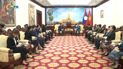 Ban Bí thư Trung ương Đoàn làm việc với Đại sứ quán Lào về Chương trình Hợp tác thanh niên