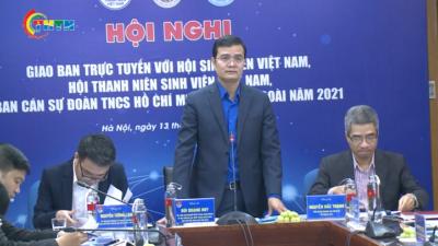 Giao ban trực tuyến TW Hội Sinh viên Việt Nam với các Hội Sinh viên Việt Nam ở nước ngoài