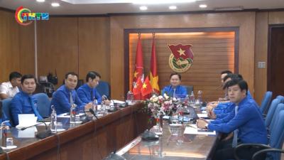 Điện đàm cấp cao về công tác thanh niên Việt Nam - Lào