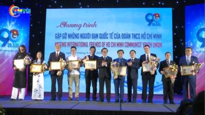 Gặp gỡ những người bạn quốc tế của Đoàn TNCS Hồ Chí Minh