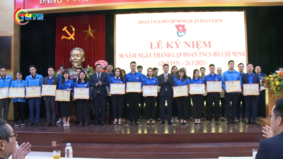 Tuổi trẻ Hoàn Kiếm - Hà Nội kỷ niệm 90 năm ngày thành lập Đoàn TNCS Hồ Chí Minh