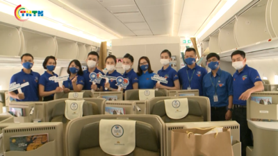 Những chuyến bay thanh niên chào mừng 90 năm ngày thành lập Đoàn TNCS Hồ Chí Minh