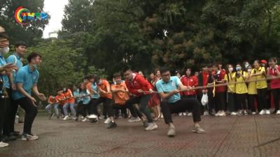 Sôi nổi Ngày hội Văn hóa - Thể thao của tuổi trẻ Thủ đô