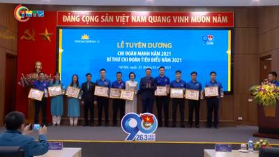 Đoàn Vietnam Airline tuyên dương Chi đoàn, Bí thư Chi đoàn tiêu biểu 2021