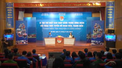 Livestream: Bí thư thứ nhất Trung ương Đoàn đối thoại với thanh niên về chủ đề Tình nguyện