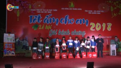 Mang Tết ấm cho người dân huyện Bình Liêu tỉnh Quảng Ninh