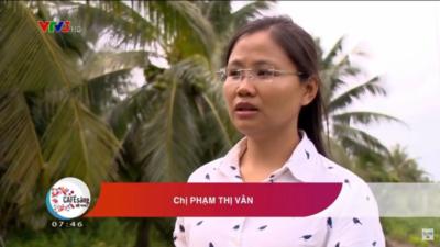 Phạm Thị Vân - Khởi nghiệp với trái dừa tươi
