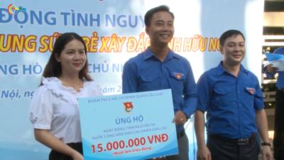 Tuổi trẻ Thủ đô lên đường tình nguyện tại Lào