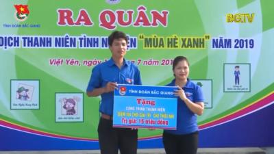 Bắc Giang - Điểm tin Thanh niên tháng 7/2019