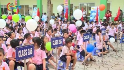 Trường Tiểu học Lomonoxop khai giảng năm học mới