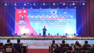 Hải Phòng - Đại hội Đại biểu Hội LHTN Việt Nam Thành phố Hải Phòng lần thứ X, nhiệm kỳ 2019 - 2024
