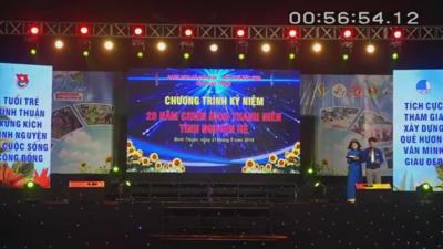 Bình Thuận - Chương trình kỷ niệm 20 năm Chiến dịch Thanh niên tình nguyện hè
