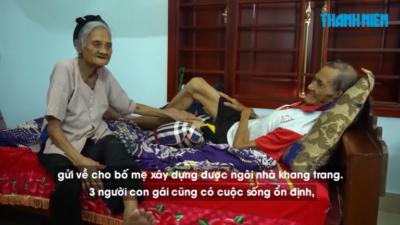 Vợ chồng 90 tuổi viết đơn xin thoát khỏi hộ nghèo