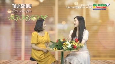 Live: CÂU CHUYỆN NGÀY XANH - Trò chuyện cùng Hoa hậu áo dài 2018 Phí Thị Thùy Linh.